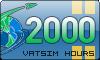 2000 VATSIM Hours
