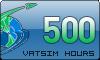 500 VATSIM Hours