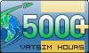 5000+ VATSIM Hours