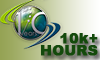 Vatsim 10,000 Plus Hours