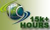 Vatsim 15,000 Plus Hours